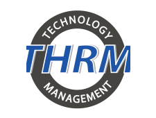 THRM Technology Human Resource Management Logo